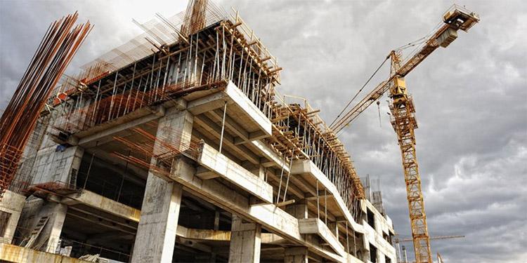 construction-crane-building