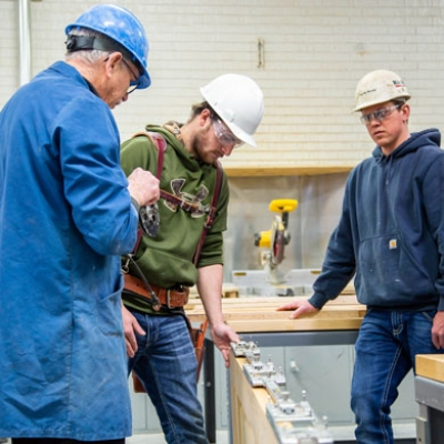 Photo of apprenticeship instruction
