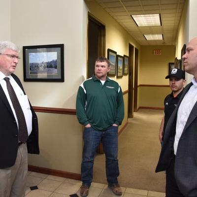 Photo of meeting with legislators